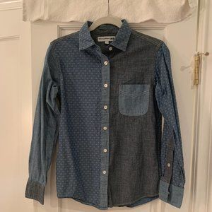 Uniqlo-Ines de la Fressange Chambray Shirt NWOT